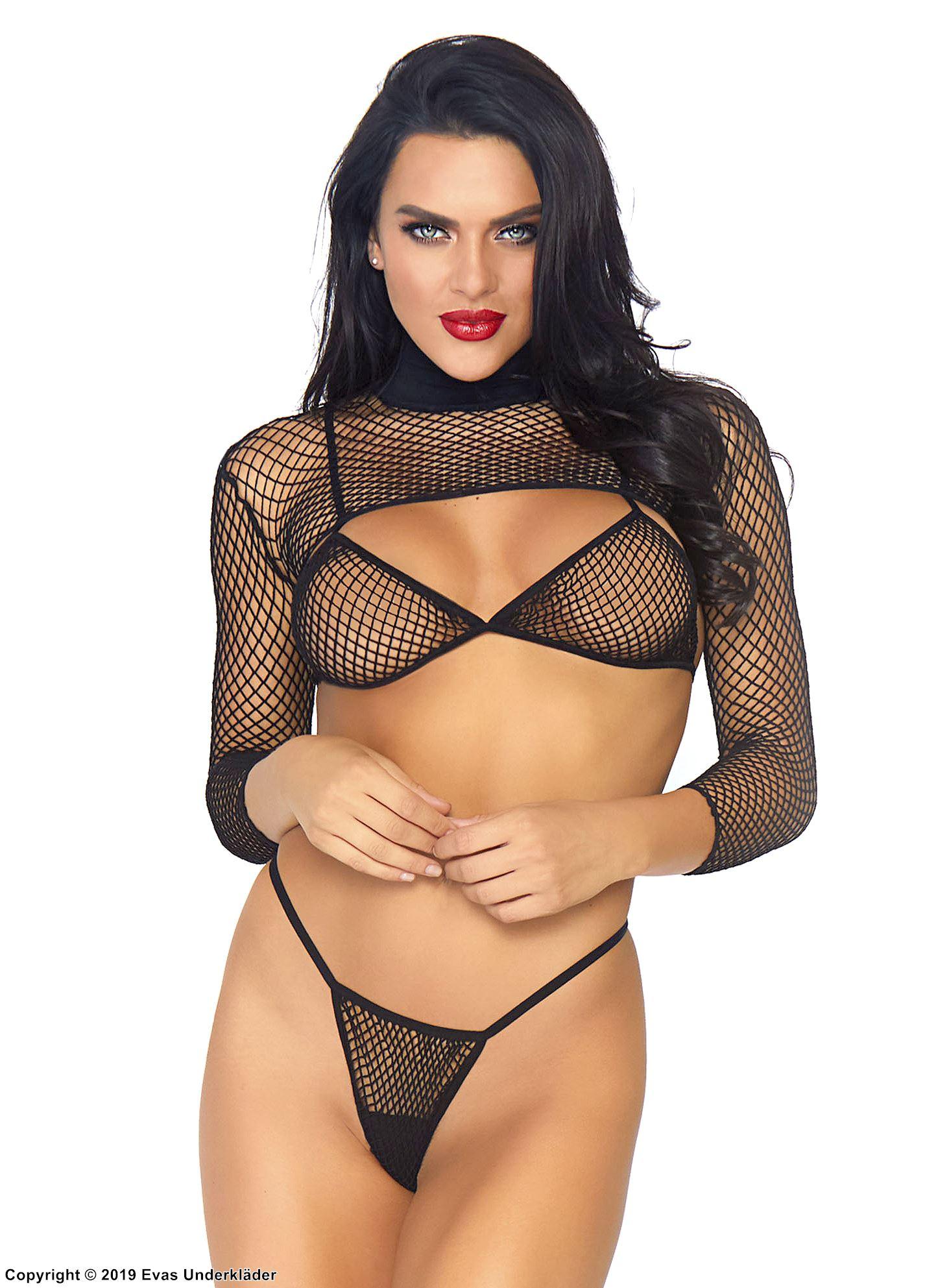 Sleeves In Panties Pic